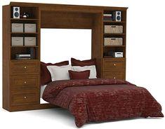Amazon.com: Bestar: Murphy Beds Full Murphy Bed, Murphy Bed Office, Murphy Bed Kits, Queen Murphy Bed, Murphy Beds, Molding Ceiling, Bed Wall, Platform Bed, Furniture Plans