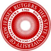 The official seal of Rutgers University