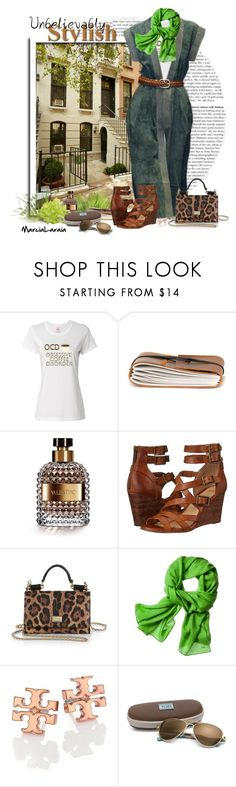 """Gucci Dress"" by marcialaraia ❤ liked on Polyvore featuring Gucci, Valentino, Frye, Dolce&Gabbana, Reed Krakoff, Tory Burch and TOMS"
