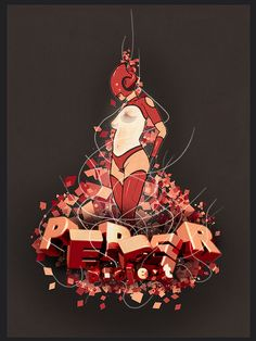 25 Stunning 3D Typography Examples For Inspiration