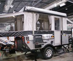 Evolution Series tent trailer by Coleman Off Road Tent Trailer, Off Road Teardrop Trailer, Bug Out Trailer, Off Road Camper Trailer, Tent Campers, Trailer Build, Camper Trailers, Teardrop Campers, Off Road Camping