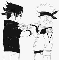 Uchiha Sasuke and Uzumaki Naruto. Anime Naruto, Naruto Vs Sasuke, Itachi Uchiha, Shikamaru, Naruto Art, Sasunaru, Manga Anime, Narusasu, Naruto Drawings