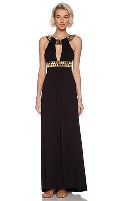 sky Neginoth Maxi Dress in Black   REVOLVE