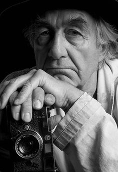 René Burri, Photographer ( 9 April 1933 - 20 October 2014) Photo: Rafael Roa, Madrid 2005