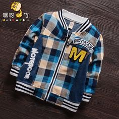 Find More Jackets & Coats Information about (9M 3T) Kids Fashion Plaid Baseball Jacket Boys Sport Children Cotton Bomber Jackets Zipper Cardigan Clothing Girl Spring Jersey,High Quality clothing casual,China clothing sleeve Suppliers, Cheap jersey girl tee shirts from Witness the Growth of Children on Aliexpress.com