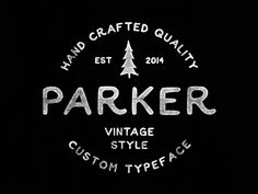Parker Font (Free) on Behance