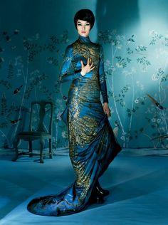 Китайская грамота Vogue US