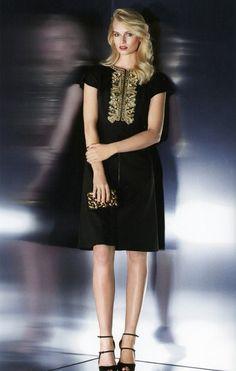 Escada Dress.   Vivaldi Boutique NYC has the Escada Fall 2014 Fashion Collection. Visit Vivaldi-NY.com to purchase this beautiful item online or call us at (212) 734-2805. #escada #fashion #women #style