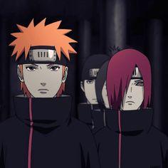 Yahiko and Nagato - Naruto Anime Naruto, Naruto Shippuden Sasuke, Kakashi Hatake, Yahiko Naruto, Manga Anime, Konan, Madara Uchiha, Shikamaru, Hinata