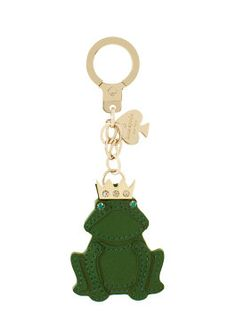 frog keychain by kate spade new york