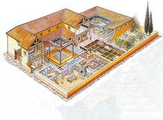 casa romana - Cerca con Google