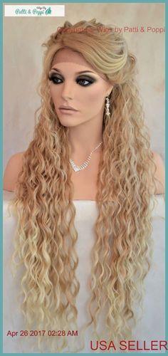 "36"" X-LONG Lace Front Deep C-Part Heat Safe Wig Color T27.613 Sexy 1184 #SEPIA"