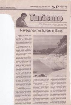 Navegando nos fiordes Chilenos – publicado em 08 de março de 2007