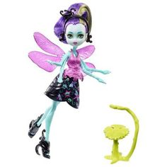 Have: Monster High Garden Ghouls Winged Critters Wingrid Doll