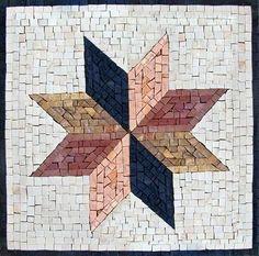 Hand-cut Modern Mosaic Square - Sana for sale online Marble Art, Marble Mosaic, Stone Mosaic, Mosaic Tiles, Mosaic Artwork, Mosaic Wall Art, Tile Art, Mosaic Mirrors, Mosaic Designs