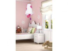 Φωτιστικό κρεμαστό ιδανικό για το δωμάτιο της μικρής σας νεραίδας .  Κωδικός:530200 Χρώμα: Λευκό-φούξια Υλικό: Ύφασμα , κόντρα πλακέ Διαστάσεις (cm):Ø43  H.145 Λάμπα:Ε27 1Χ60W Toddler Bed, Giveaways, Furniture, Bedrooms, Home Decor, Amazing, Child Bed, Decoration Home, Room Decor