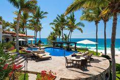 Cabo San Lucas House Rental: Sjd - Bahi9 - Beautiful Secluded Beachfront Villa | HomeAway