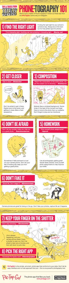 8 Tips To Perfect Your Mobile Photography Skills #infographic