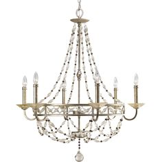 Buy the Progress Lighting Antique Silver Direct. Shop for the Progress Lighting Antique Silver Chanelle 6 Light Wide Candle-Style Chandelier with Glass Bead Accents and save. Chandelier Lighting Fixtures, Outdoor Light Fixtures, Modern Chandelier, Outdoor Lighting, Silver Chandelier, Home Depot, Progress Lighting, Drum Shade, Antique Silver
