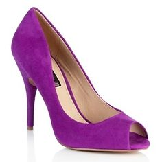 "Steven by Steve Madden ""Justise"" Leather Open-Toe Pump at HSN.com."