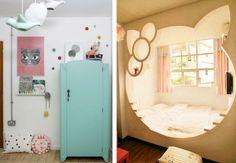 Imagens: http://www.pauletpaula.com/kids-room-ideas-2/ e…
