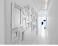 Living in DesignLand: PASILLO CON MARCOS