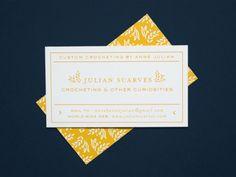 Julian Scarves | Business Cards