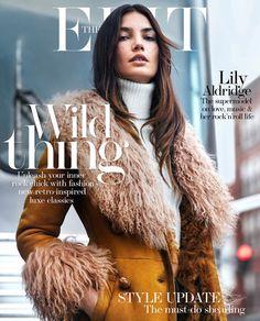Lily Aldridge for The Edit - September 2015