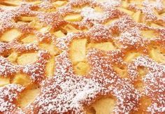 Schwedischer-Apfelbiskuit: Für den #Kuchenbasar toll, weil er schön locker und fruchtig ist.
