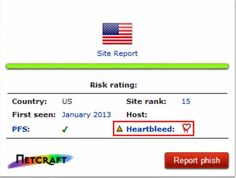 Now there's an easy way to flag sites vulnerable to Heartbleed- Browser extension checks if site you're visiting is still at risk.