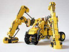 Fictitious heavy equipment / Lego