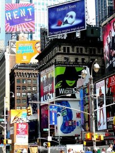 Broadway! Aka heaven on earth for all theatre geeks. ;)