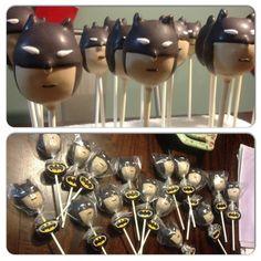 Batman Cake Pops @ecakepop