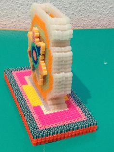 Porta lápiz hecho con hama beads