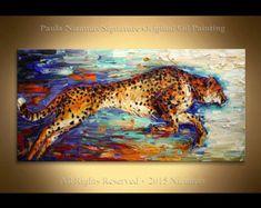 Saxophone jugador ORIGINAL moderno óleo sobre lienzo por Artcoast