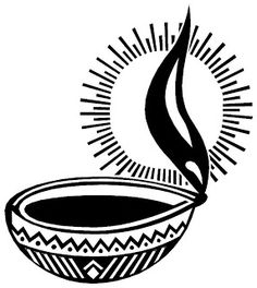 vilakku clipart - OurClipart Diwali Painting, Diwali Drawing, Diwali Greeting Cards, Diwali Cards, Diwali Diya, Diwali Celebration Images, Cartoon Drawing Images, Tibetan Symbols, Wedding Card Design Indian