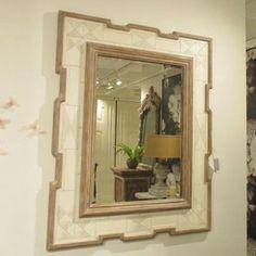 Tribal Bone Mirror b