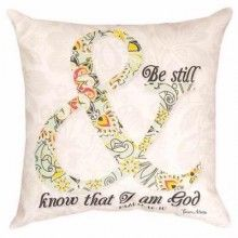 Be Still Indoor/Outdoor Pillow from your local Clinton,TN florist, Knight's Flowers Pillow Inspiration, Flowers Delivered, Home Decor Outlet, Be Still, Psalms, Best Gifts, Tapestry, Christian, Throw Pillows
