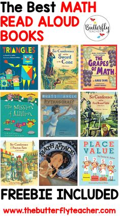 Incorporating engaging books during math time can have a powerful impact on math AND reading in your classroom! Here are some of the best math read alouds teachers can use to build math mastery Math Resources, Math Activities, Classroom Resources, Teaching Math, Creative Teaching, Student Learning, Math Books, Children's Books, Build Math