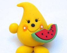 Ähnliche Artikel wie BASKETBALL PARKER Figurine - Sports Series - Polymer Clay Character Figurine or Ornament auf Etsy