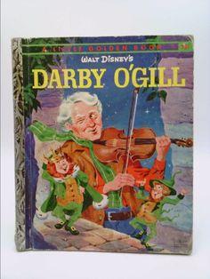Walt Disney's Darby O'Gill - A Little Golden Book