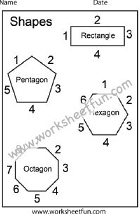 shapes polygons pentagon hexagon heptagon octagon nonagon decagon 2 worksheets. Black Bedroom Furniture Sets. Home Design Ideas