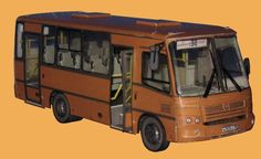 PAZ-320402 Bus Free Vehicle Paper Model Download - http://www.papercraftsquare.com/paz-320402-bus-free-vehicle-paper-model-download.html#143, #Bus, #PAZ, #VehiclePaperModel