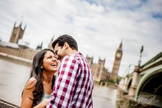 London Engagement Photo shoot by Truly Photography.