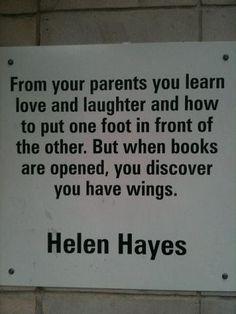 Books fulfill our dreams!