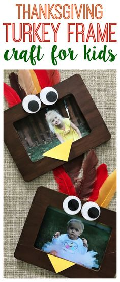 A Turkey Frame Craft - The Chirping Moms