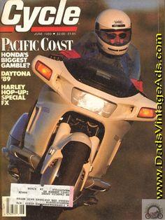 1989 Honda Pacific Coast motorcycle – Honda's biggest gamble?