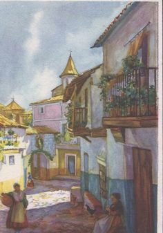 arcos en guadalupe-caceres - Buscar con Google Google, Painting, Fine Art, Arches, Viajes, Painting Art, Paintings, Painted Canvas, Drawings