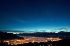 Stunning! Grenoble sous la brume by Jonathan Chanal, via 500px