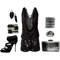 This would be an awesome new years outfit if you had somewhere to go